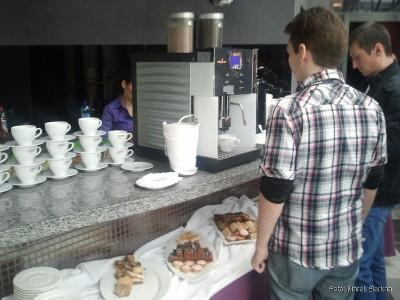 Kawa, napoje, ciastka - na najwyższym poziomie