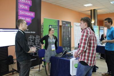 Stoisko firmy e-point S.A. na konferencji 4Developers