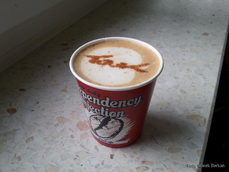 Wyśmienita kawa od jednego ze sponsorów