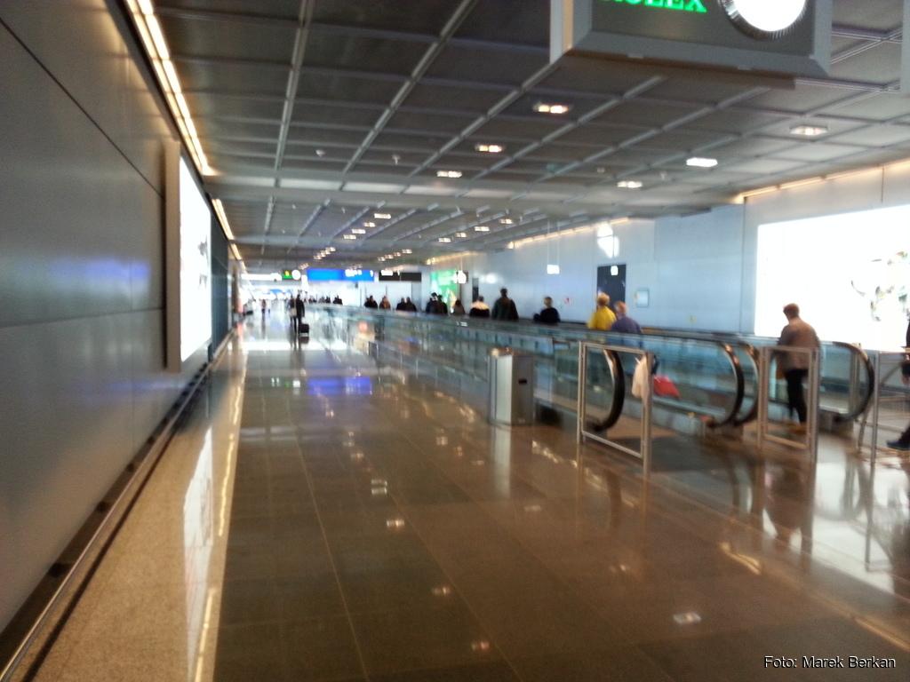 Terminal na lotnisku we Frankfurcie