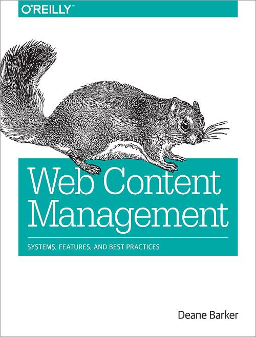 """Okładka książki """"Web Content Management"""""""